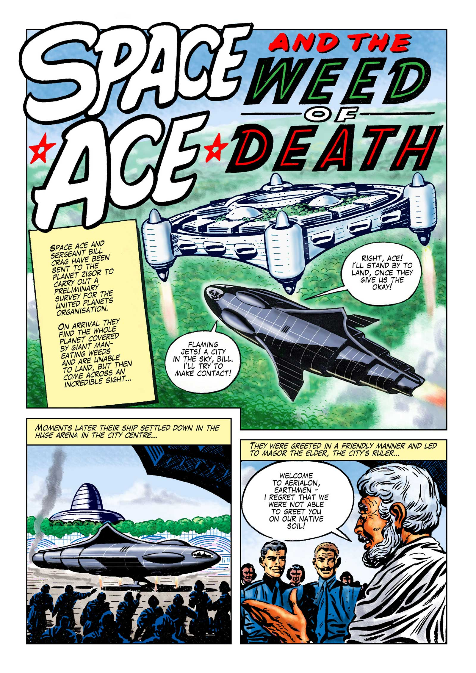 Space Ace Volume 9 - Weed of Death