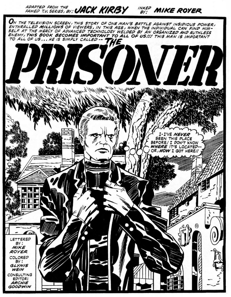 The Prisoner, by Jack Kirby