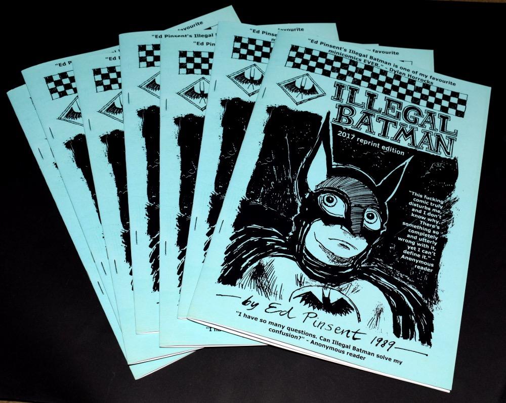 Illegal Batman by Ed Pinsent