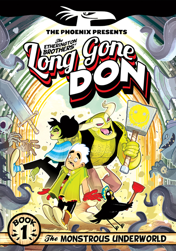 Long Gone Don Book One - Cover