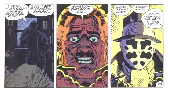 Details fromWatchmen. Art by Dave Gibbons
