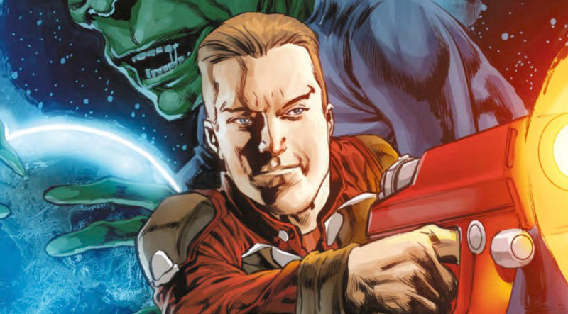 Dan Dare #2 Cover A - Mike Perkins SNIP