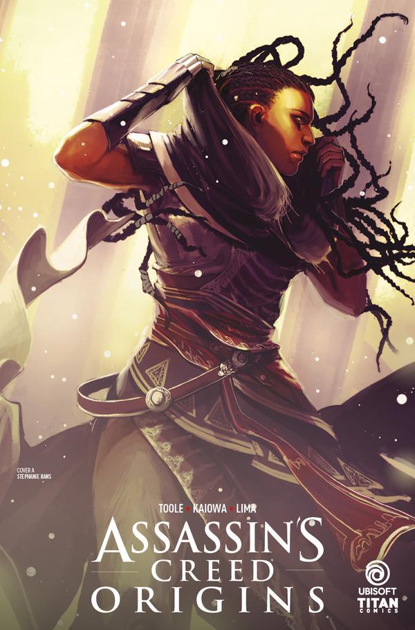 Assassins Creed Origins #1 - Cover A by Stephanie Hans