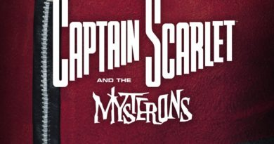 Captain Scarlet - The Vault - Cover