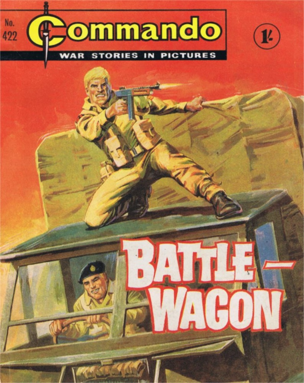 Commando 422: Battle-Wagon