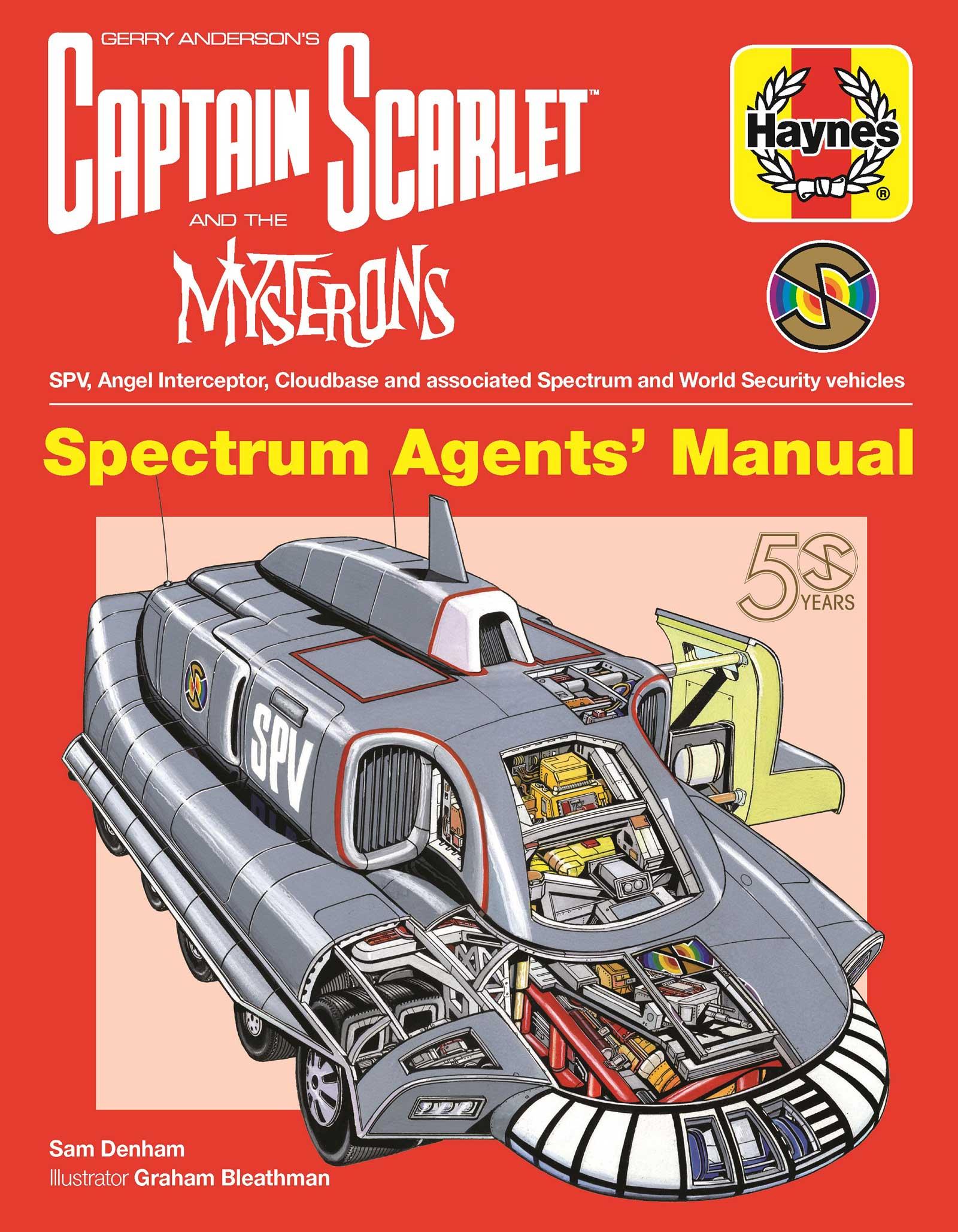 Captain Scarlet - Spectrum Agents' Manual - Cover