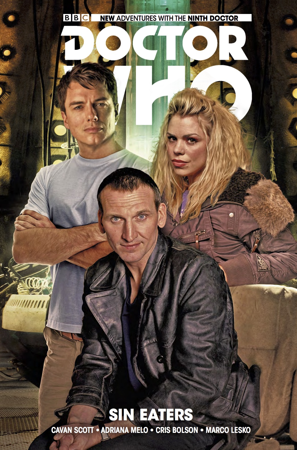 The latest collection of Titan's Doctor Who: The Ninth Doctor stories, available now