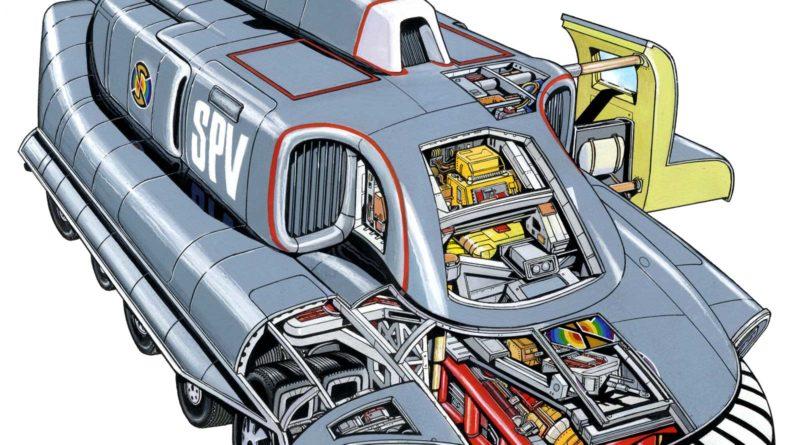 Captain Scarlet - Spectrum Agents' Manual - SPV
