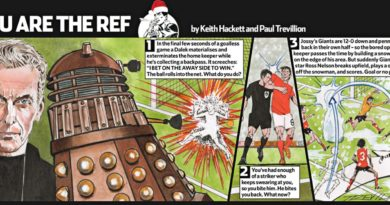 """A quirky """"You are the Ref"""" Christmas Special by Keith Hackett and Paul Trevillion, published by The Guardian back in 2014"""