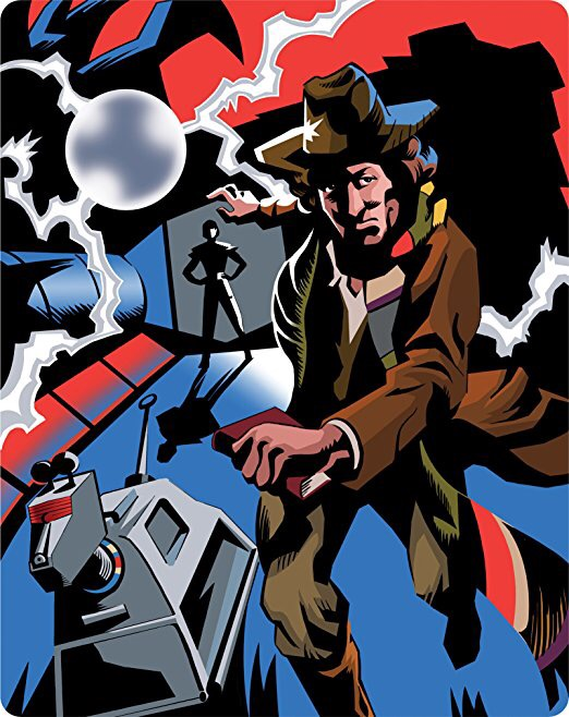 Doctor Who Shada LIMITED EDITION STEELBOOK - Fourth Doctor