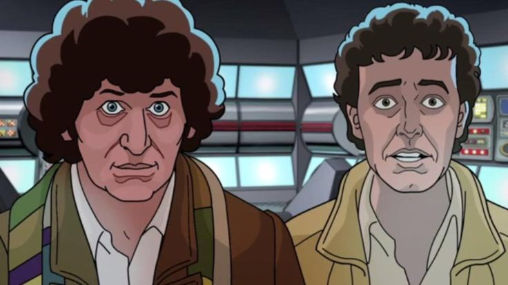 One of the animated scenes from the new version of Shada from BBC Worldwide © BBC