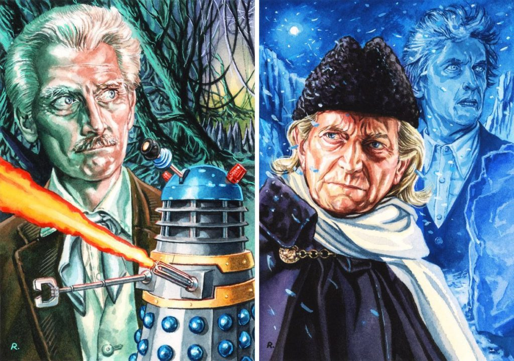 Doctor Who-inspired art by Graeme Neil Reid