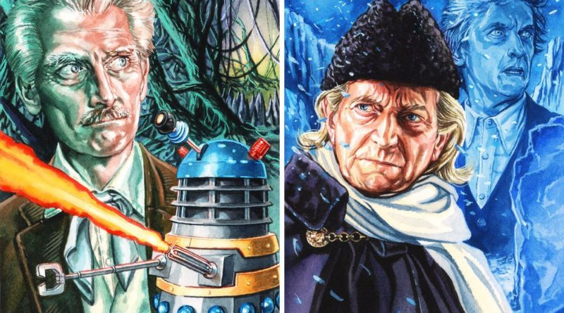 Doctor Who-inspired art by Graeme Neil Reid