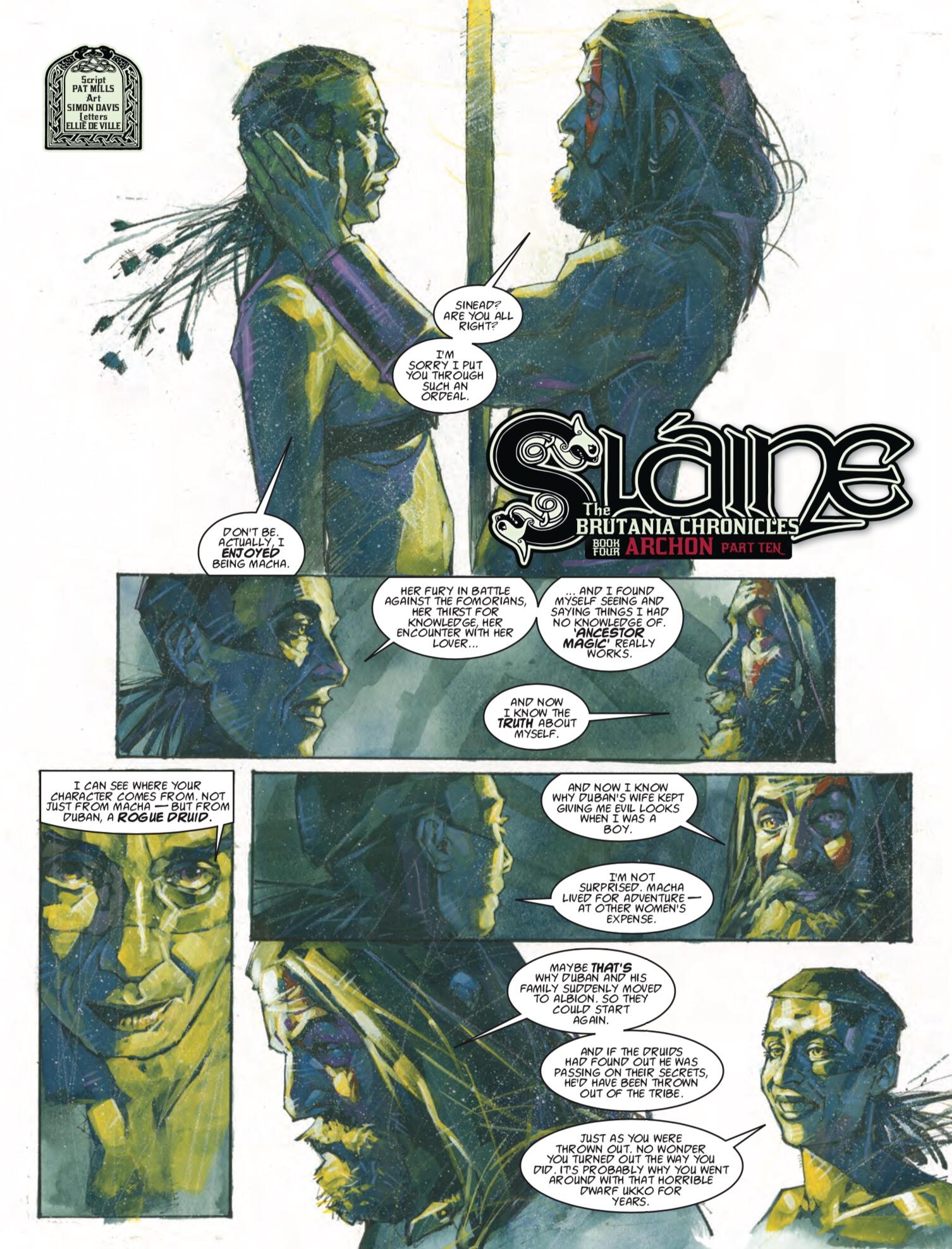 2000AD 2059 - Slaine
