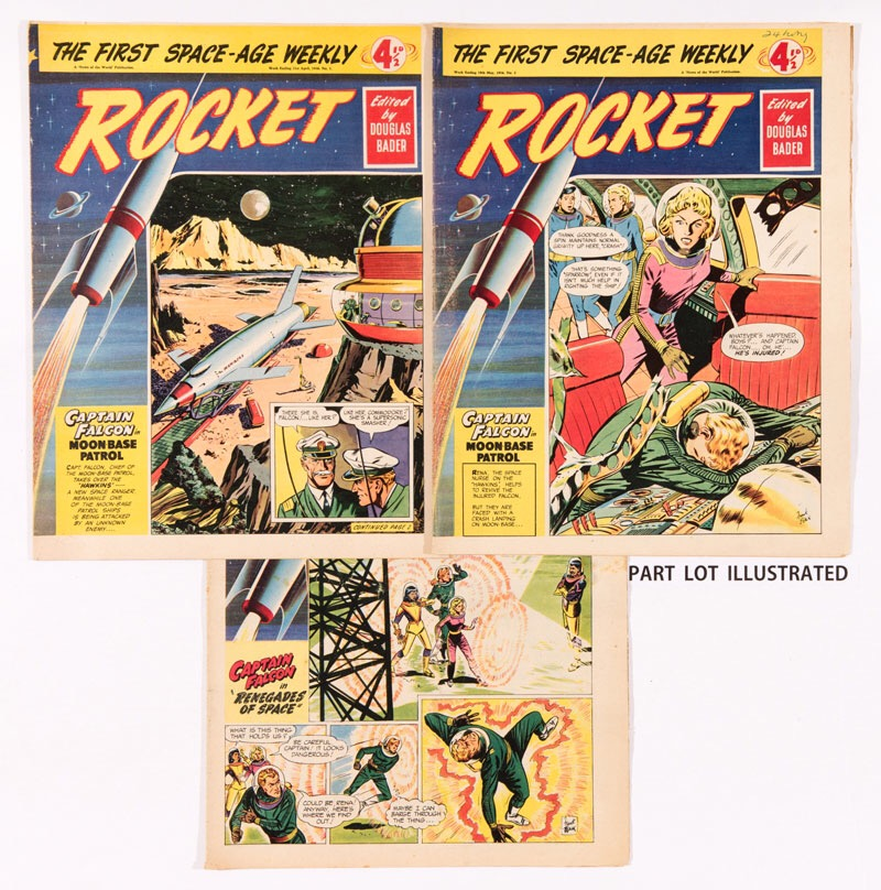 Rocket (1956) 1-32 final issue (before amalgamation with Express Weekly)
