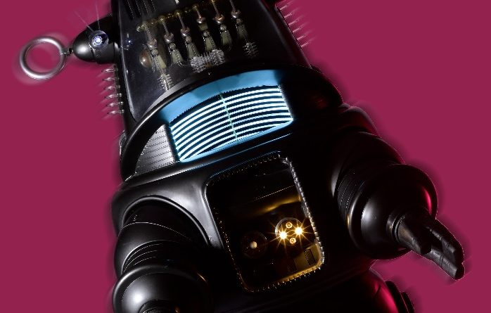The original Robby the Robot suit and Jeep from Forbidden Planet, Metro-Goldwyn-Mayer, 1956, has sold for $5,375,000 at Bonhams New York