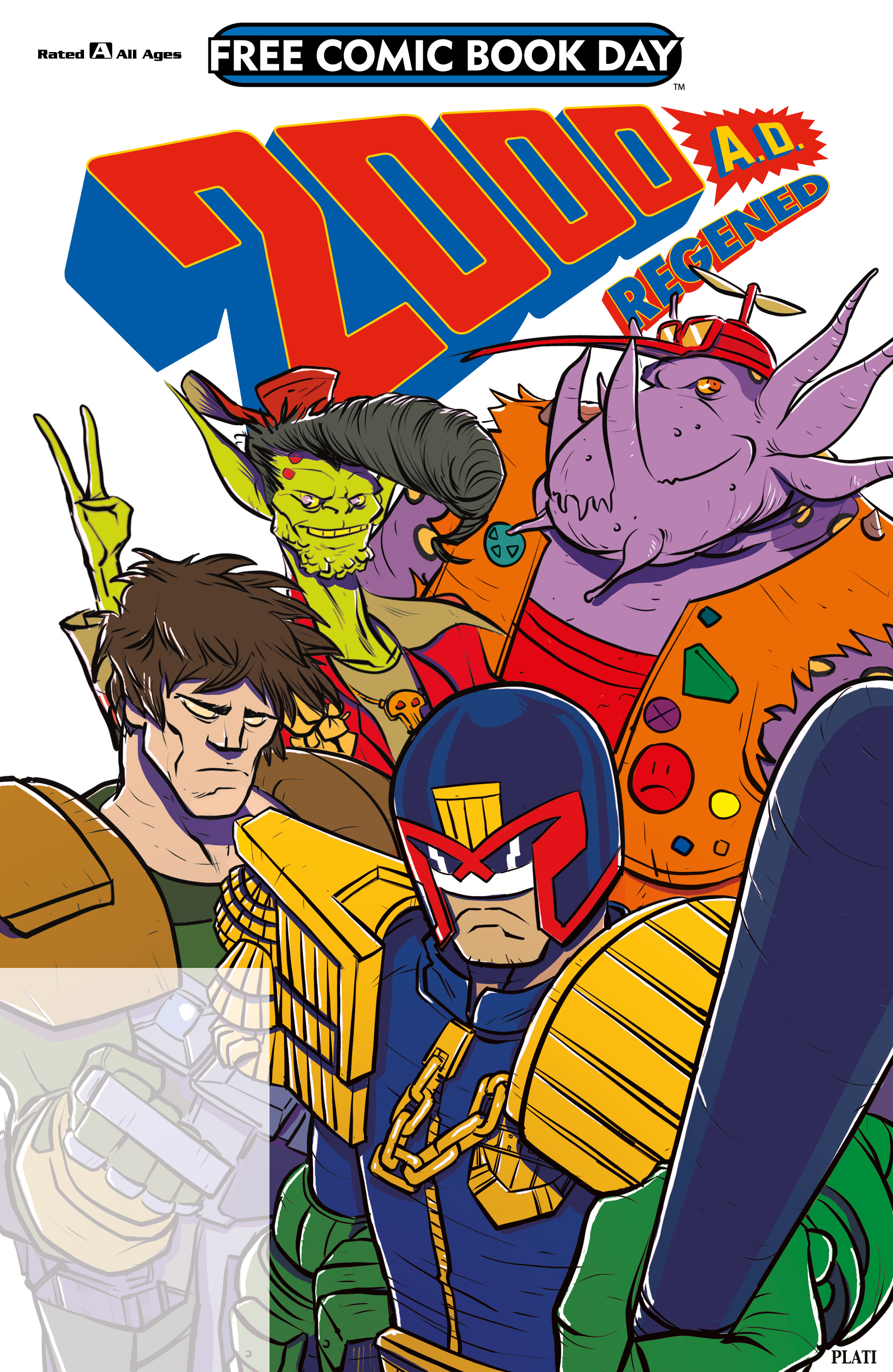 2000 AD Regened - Free Comic Book Day 2018