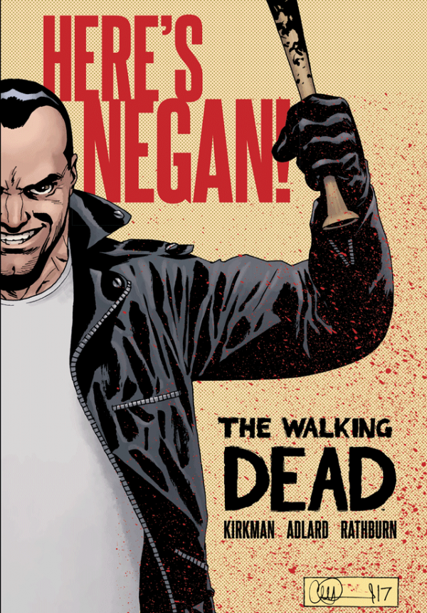 The Walking Dead - Where's Negan? Collection cover