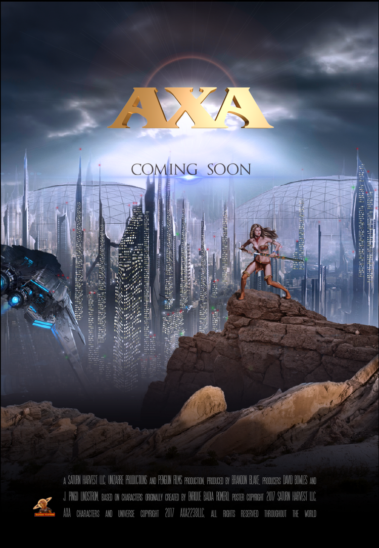 The latest teaser poster for AXA: Battle for the Serpent Gate