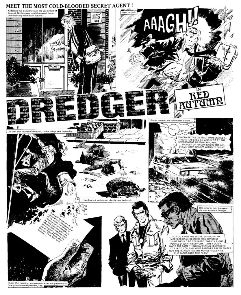 Missing in Action - The Lost Stories - Dredger 4