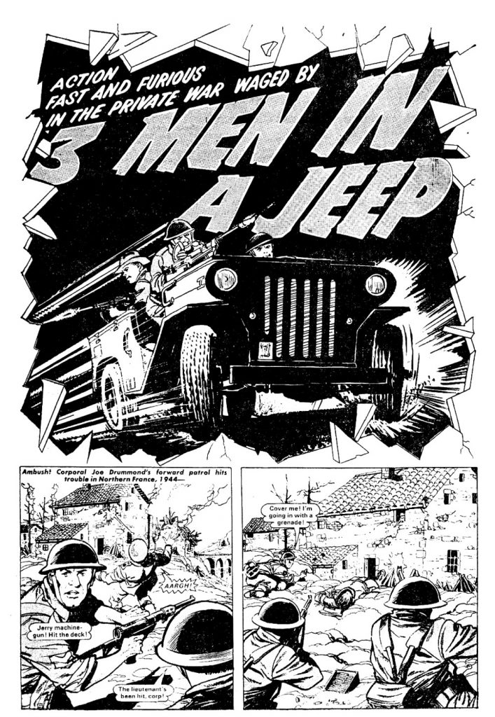 Bullet Issue One - 3 Men in a Jeep