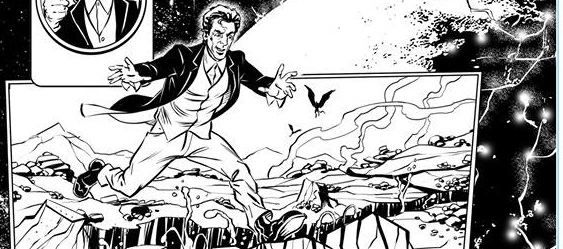Doctor Who Adventures - Unpublished Twelfth Doctor Strip 1 SNIP