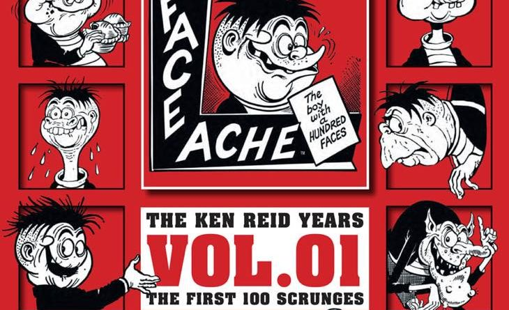 Faceache Volume One: The First Hundred Scrunges - Final Cover