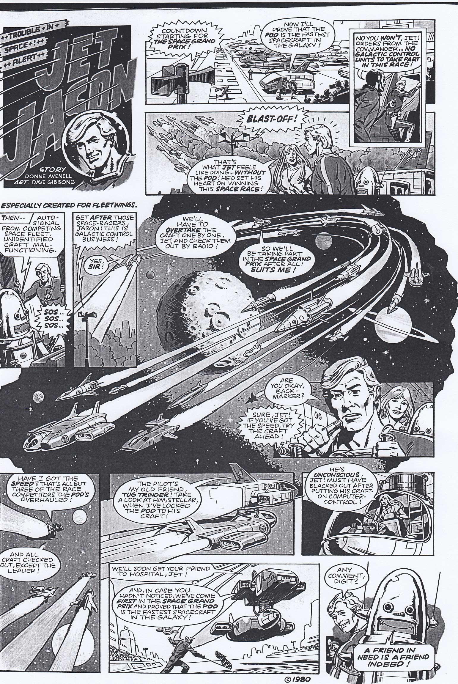 Fleetwings - Winter 1980 - Jet Jason Episode 5
