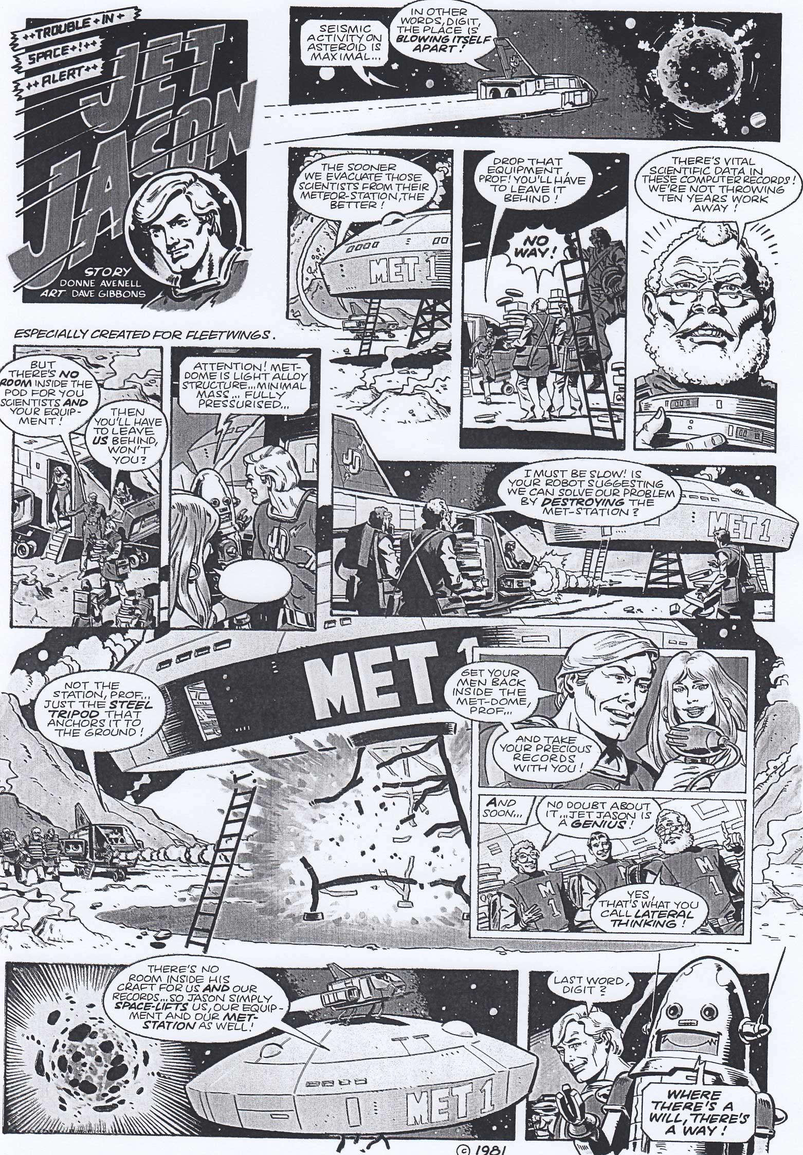 Fleetwings - Spring 1981 - Jet Jason Episode 6