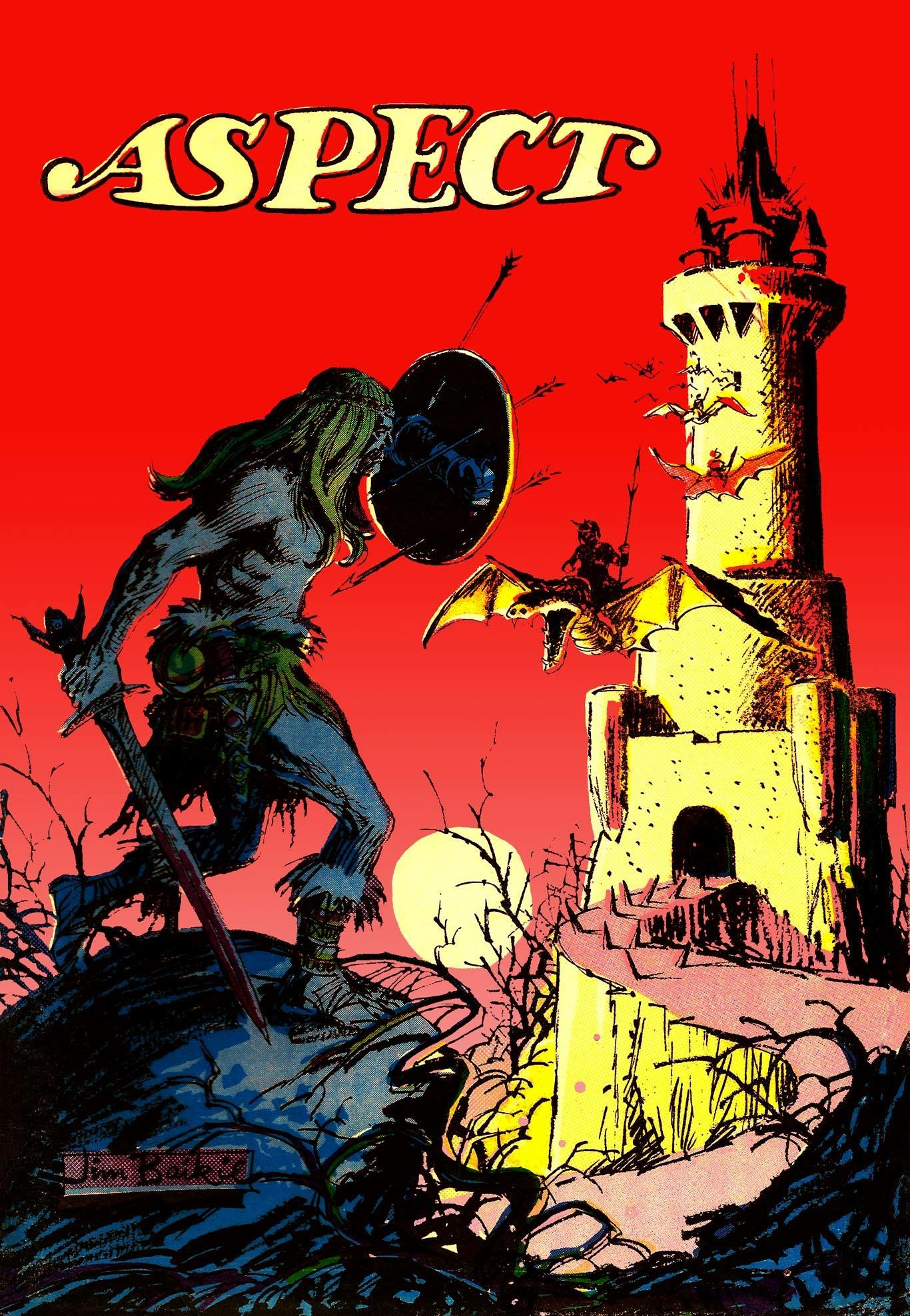 Aspect - cover by Jim Baikie