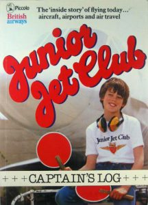 Junior Jet Club - Captain's Log, from Piccolo Books, another JJC tie-in