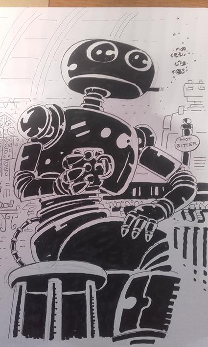 Sketch by Phil Elliott