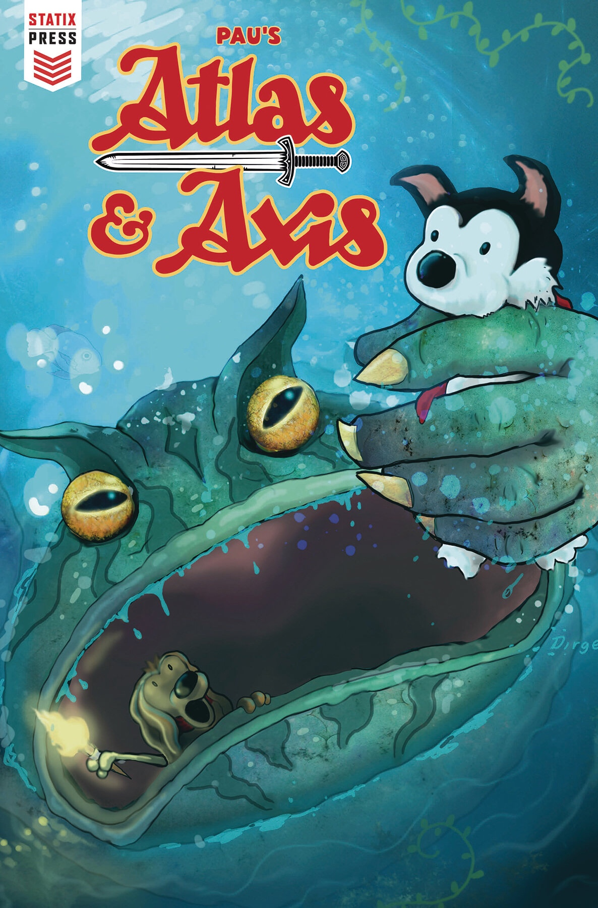 Atlas & Axis #1 - Cover A