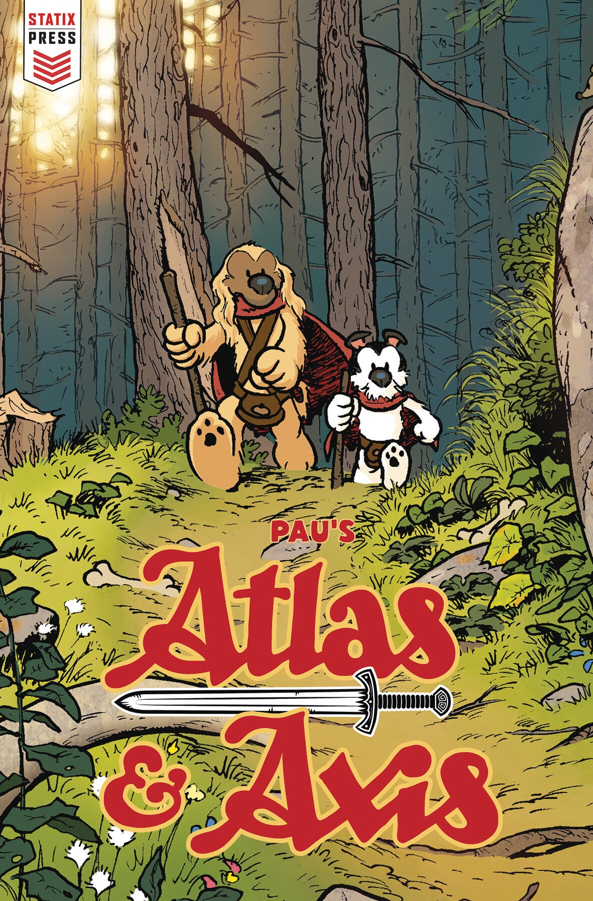 Atlas & Axis #1 - Cover B