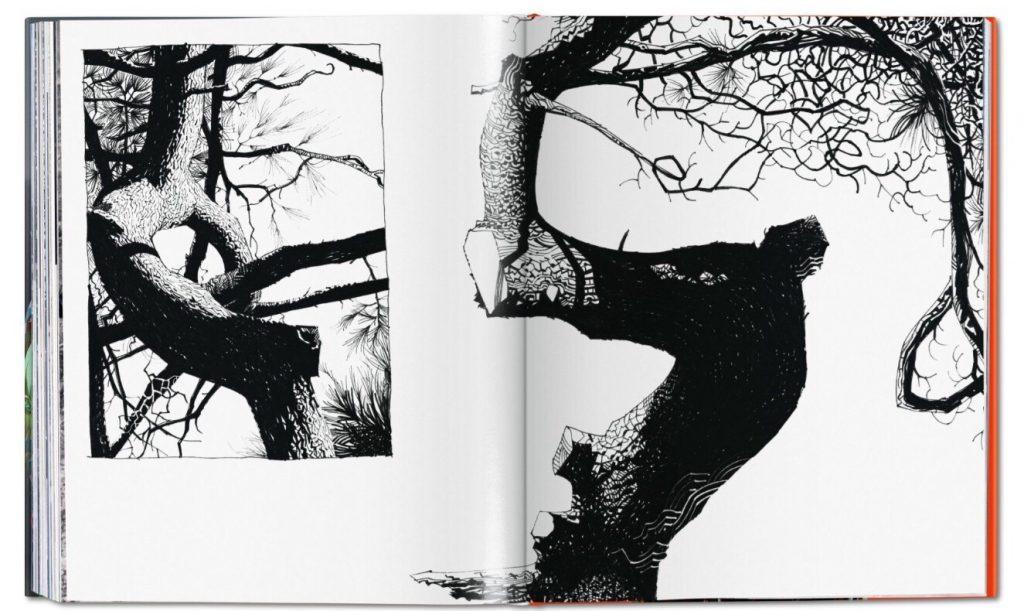 Jamie Hewlett monograph - Sample Spread
