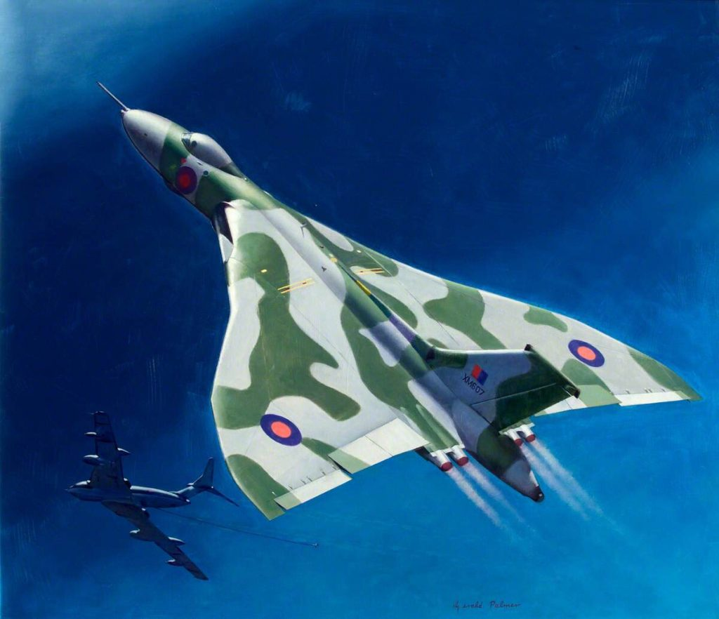 Vulcan Operation Black Buck by Gerald Palmer | Royal Air Force Museum