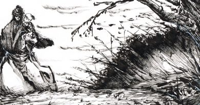 Lone Wolf and Cub - Art Sample