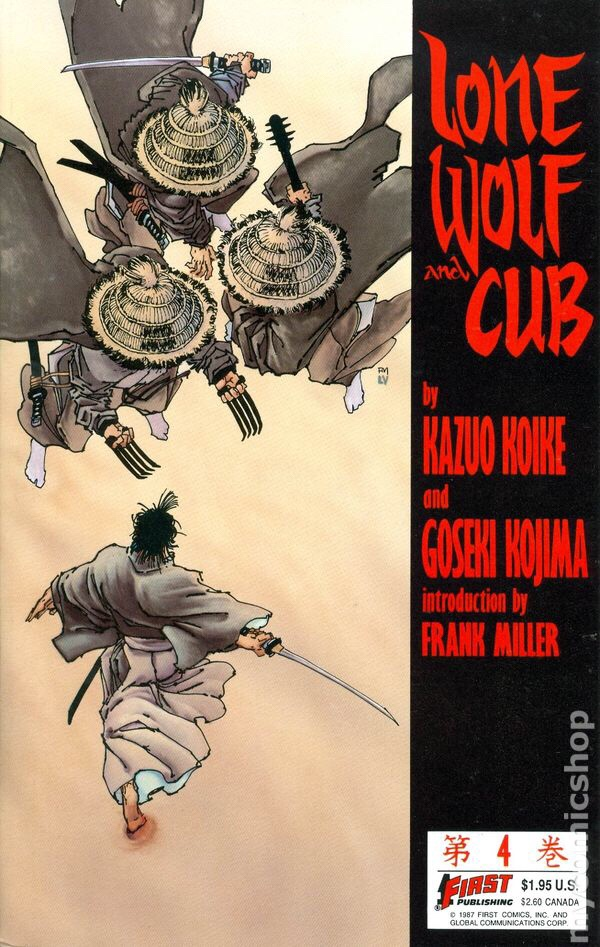 Lone Wolf and Cub #1 - First Comics