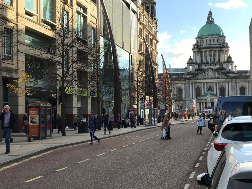 Have to say Belfast looks awfully picturesque here!