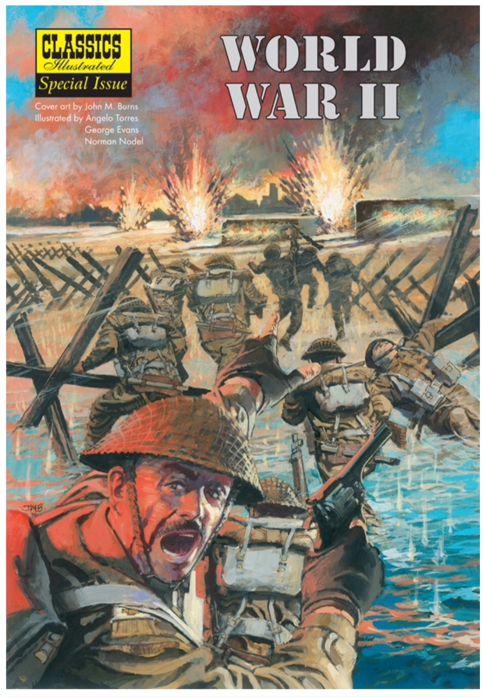 Classics Illustrated World War Two Special