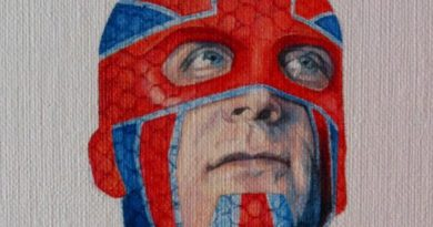 Captain Britain by Ciara McAvoy SNIP