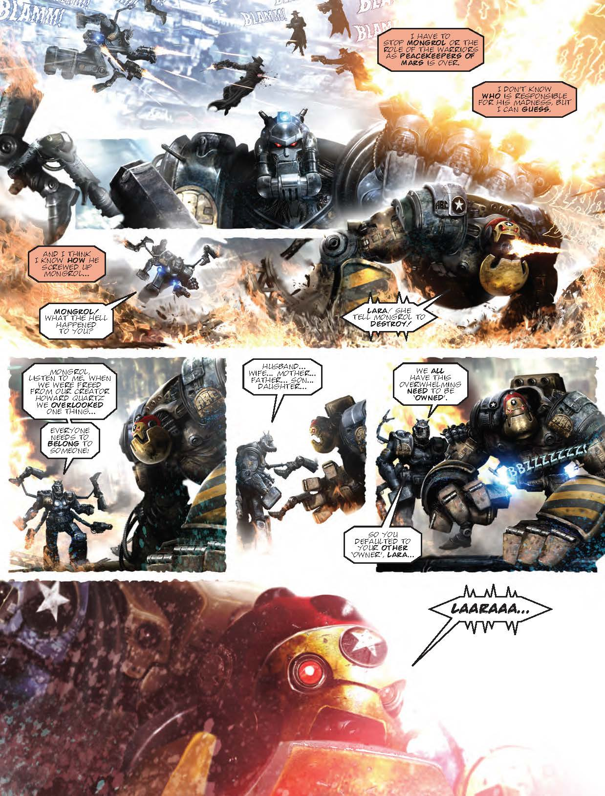 2000AD Prog 2063 - ABC Warriors