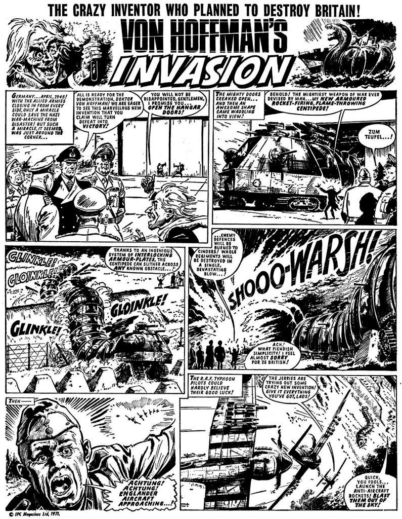 Jet Issue 1 - Von Hoffman's Invasion Page 1