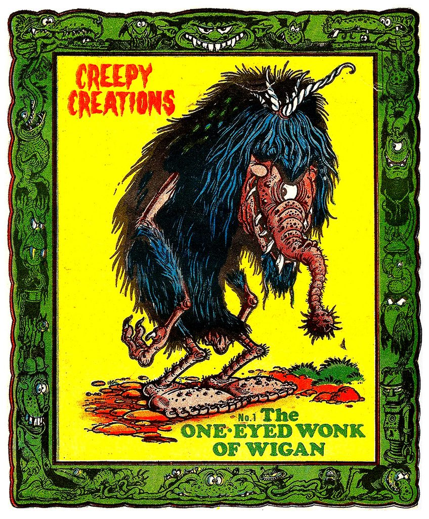 "One of Ken Reid's marvellous ""Creepy Creations"""