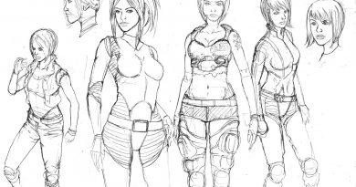 ParAssassin - Cassindra Character Design by Alfa Robbi