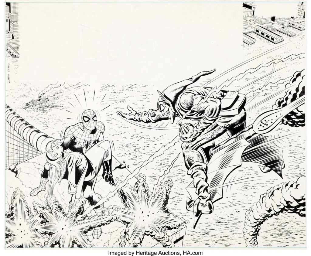 Super Spider-Man Issue 171 Cover Art by Dave Hunt