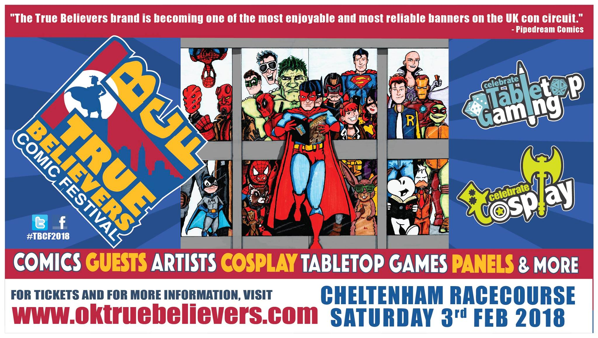 True Believers Comic Festival 2018