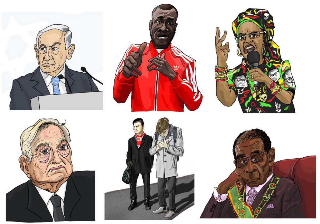 Caricatures by Zoom Rockman