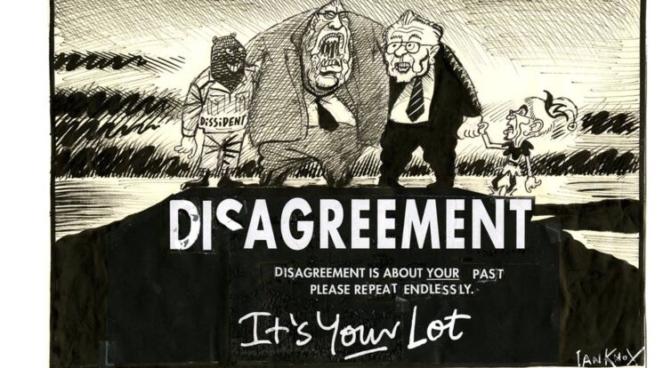 The Disagreement by Ian Knox (1998)