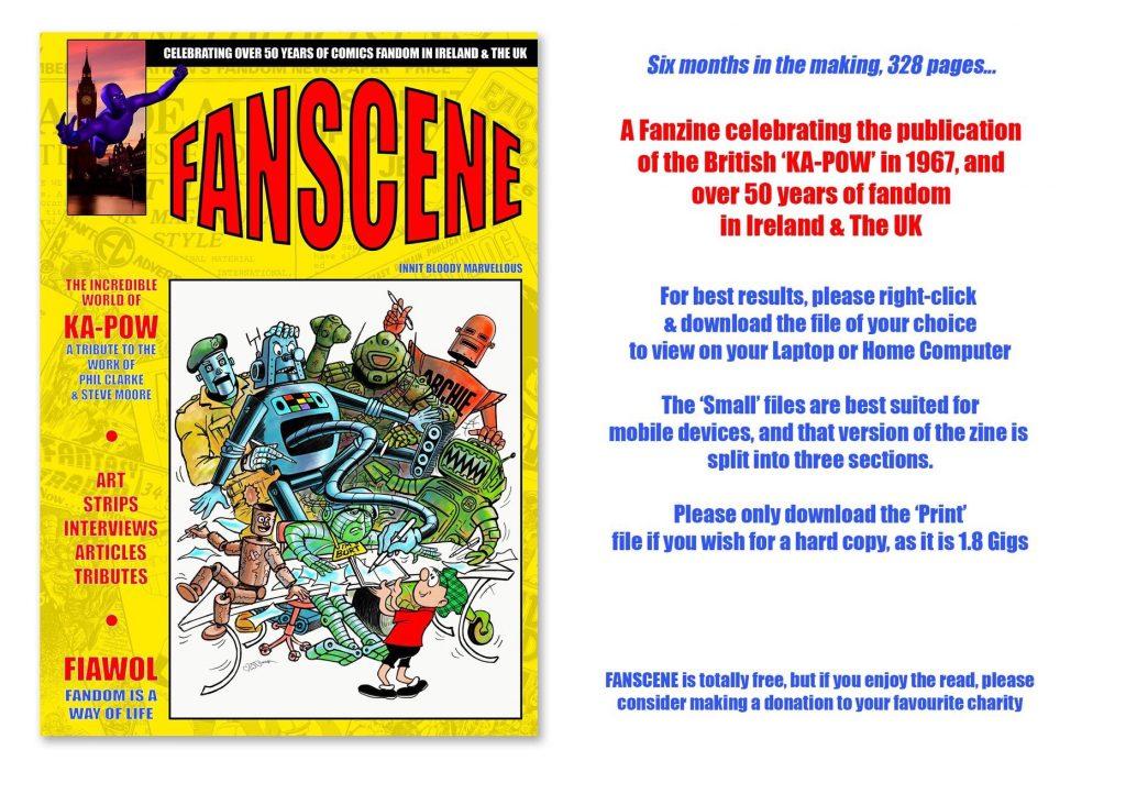 FANSCENE 2017 Promotional Banner